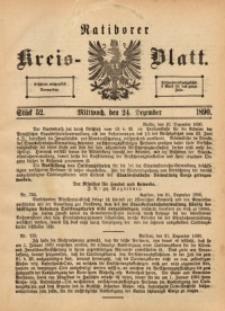 Ratiborer Kreis-Blatt, 1890, Stück 52