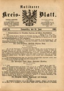 Ratiborer Kreis-Blatt, 1891, Stück 24