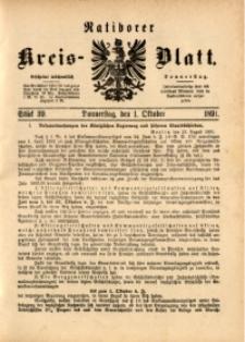 Ratiborer Kreis-Blatt, 1891, Stück 39