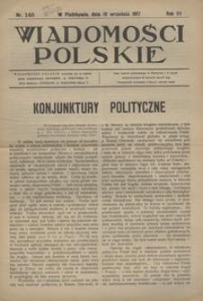 Wiadomości Polskie, 1917, R. 3, nr 145