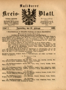 Ratiborer Kreis-Blatt, 1893, Stück 7