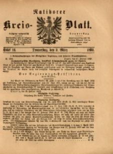 Ratiborer Kreis-Blatt, 1893, Stück 10