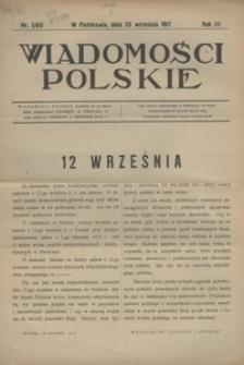 Wiadomości Polskie, 1917, R. 3, nr 146