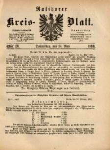 Ratiborer Kreis-Blatt, 1893, Stück 20
