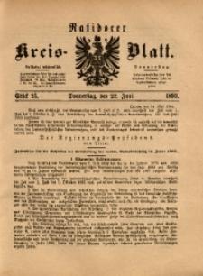 Ratiborer Kreis-Blatt, 1893, Stück 25