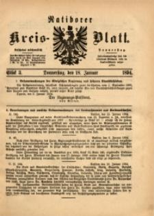 Ratiborer Kreis-Blatt, 1894, Stück 3