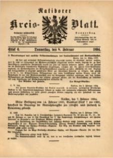 Ratiborer Kreis-Blatt, 1894, Stück 6
