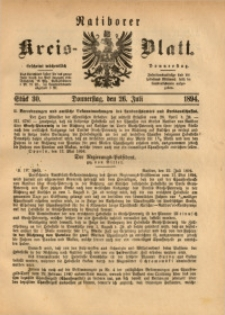 Ratiborer Kreis-Blatt, 1894, Stück 30
