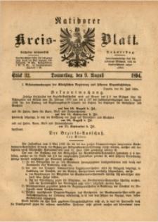 Ratiborer Kreis-Blatt, 1894, Stück 32