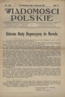 Wiadomości Polskie, 1917, R. 3, nr 152