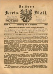 Ratiborer Kreis-Blatt, 1894, Stück 36