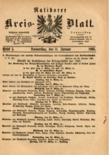 Ratiborer Kreis-Blatt, 1895, Stück 5