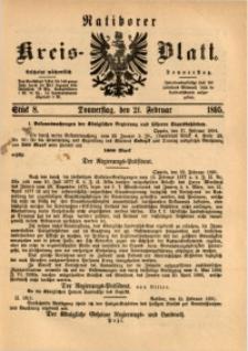 Ratiborer Kreis-Blatt, 1895, Stück 8
