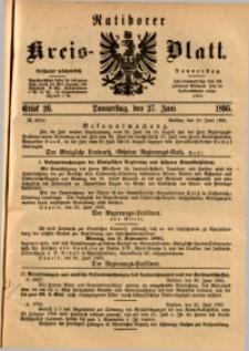 Ratiborer Kreis-Blatt, 1895, Stück 26