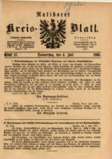 Ratiborer Kreis-Blatt, 1895, Stück 27