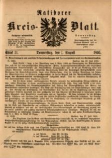 Ratiborer Kreis-Blatt, 1895, Stück 31