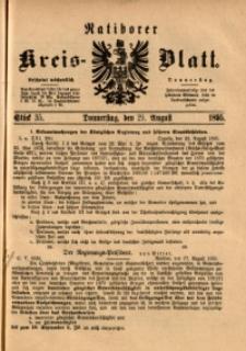 Ratiborer Kreis-Blatt, 1895, Stück 35