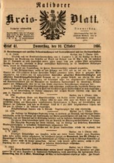 Ratiborer Kreis-Blatt, 1895, Stück 41