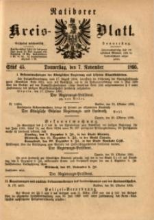 Ratiborer Kreis-Blatt, 1895, Stück 45