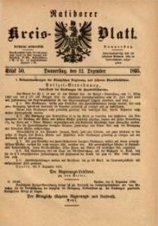 Ratiborer Kreis-Blatt, 1895, Stück 50
