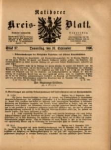 Ratiborer Kreis-Blatt, 1896, Stück 37