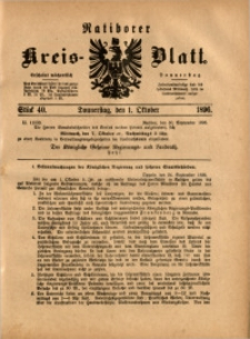 Ratiborer Kreis-Blatt, 1896, Stück 40