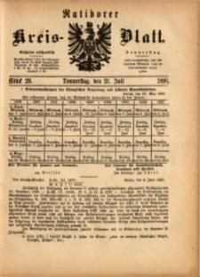 Ratiborer Kreis-Blatt, 1898, Stück 29