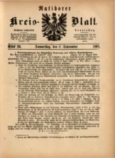 Ratiborer Kreis-Blatt, 1898, Stück 36