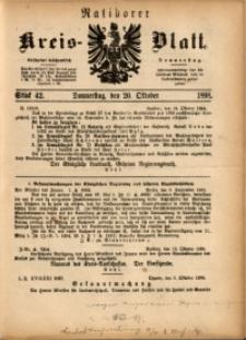 Ratiborer Kreis-Blatt, 1898, Stück 42