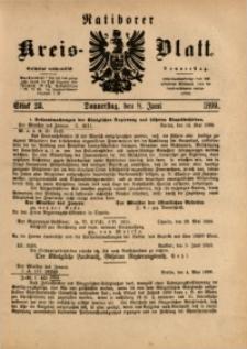 Ratiborer Kreis-Blatt, 1899, Stück 23
