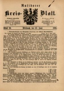 Ratiborer Kreis-Blatt, 1899, Stück 26