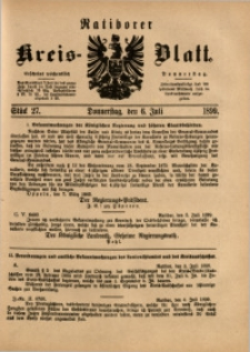Ratiborer Kreis-Blatt, 1899, Stück 27