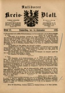 Ratiborer Kreis-Blatt, 1899, Stück 37