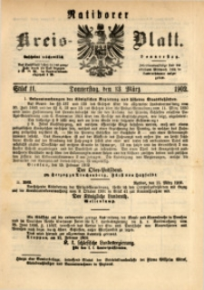 Ratiborer Kreis-Blatt, 1902, Stück 11