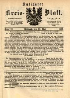 Ratiborer Kreis-Blatt, 1902, Stück 22