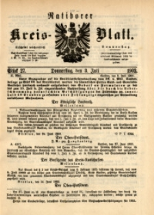 Ratiborer Kreis-Blatt, 1902, Stück 27