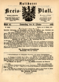 Ratiborer Kreis-Blatt, 1902, Stück 42