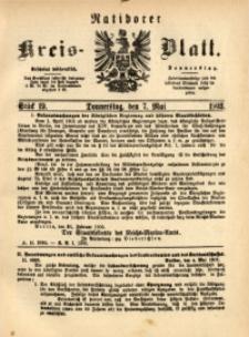 Ratiborer Kreis-Blatt, 1903, Stück 19