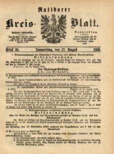 Ratiborer Kreis-Blatt, 1903, Stück 35