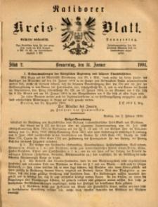 Ratiborer Kreis-Blatt, 1904, Stück 2