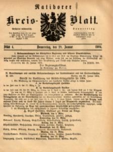Ratiborer Kreis-Blatt, 1904, Stück 4
