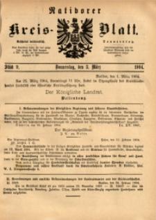 Ratiborer Kreis-Blatt, 1904, Stück 9