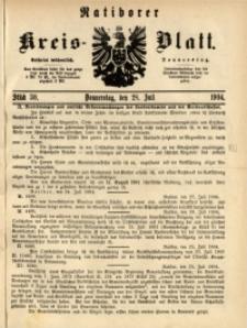 Ratiborer Kreis-Blatt, 1904, Stück 30