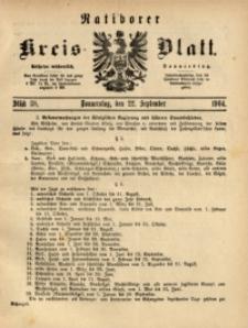 Ratiborer Kreis-Blatt, 1904, Stück 38
