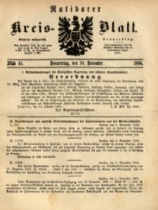 Ratiborer Kreis-Blatt, 1904, Stück 45