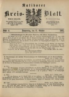 Ratiborer Kreis-Blatt, 1905, Stück 41