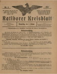 Ratiborer Kreisblatt, 1912, nr5