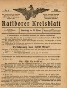 Ratiborer Kreisblatt, 1913, nr8