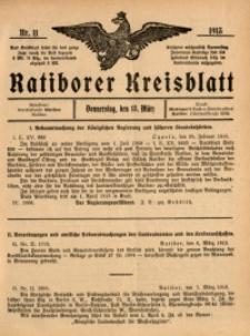 Ratiborer Kreisblatt, 1913, nr11