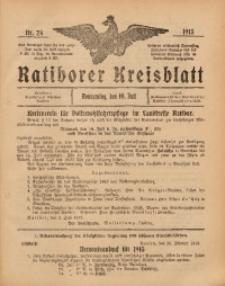 Ratiborer Kreisblatt, 1913, nr28